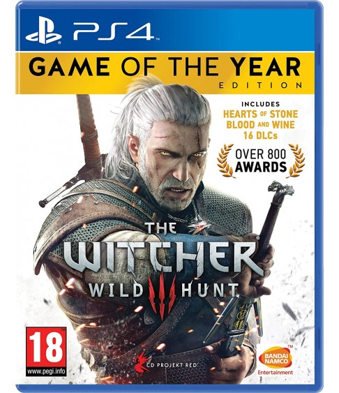 Witcher 3 Game of the Year Edition [PS4]
